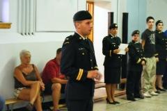 Parade de graduation des cadets-cadres 2009