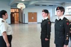 Parade de graduation des cadets-cadres 2011
